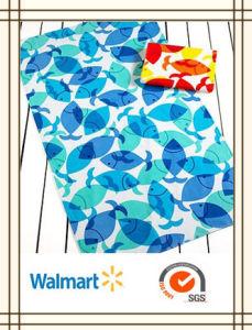 100% Cotton Reactive Printed Velour Beach Towel