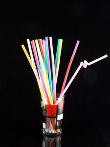 Solid Colors Flexible Artistic Straw with FDA Test pictures & photos