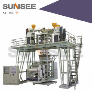 Double-Layer Co-Extruding Rotary Die Head Film Blowing Machine pictures & photos