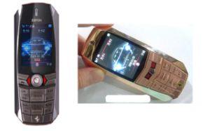Golden Dual SIM Mobile Phone (F8)