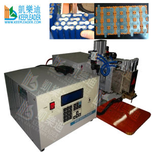 Battery Cell Resistance Spot Welder with Capacitors Discharged, Programble