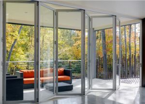 Outdoor Soundproof Balcony Aluminium Folding Doors