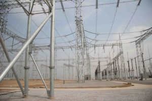 750kv Tubular Substation Structure pictures & photos