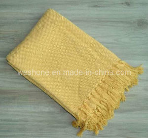 Bamboo Throw, Bamboo Blanket, Bamboo Fiber Throw Bb-09123 pictures & photos