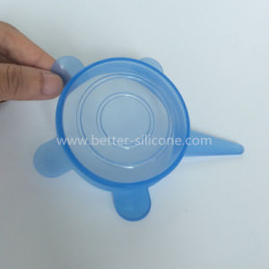 Silicone Cup Cover for Drinking Glasses pictures & photos