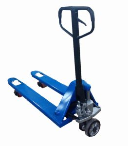 3 Ton Manual Pallet Truck with Blue Color pictures & photos