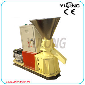 Small Flat Die Wood Granulating Machine for Sell pictures & photos