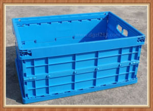 China Superior Plastic Accordion Folding Storage Crates with Colored Manufacturer pictures & photos