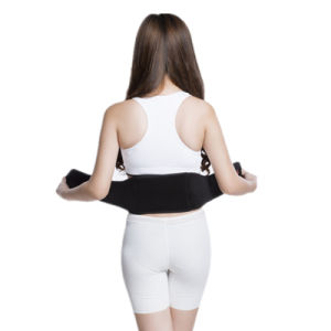 Graphene Far-Infrared Physical Therapy Waist Lumber Belt Lower Back Support Belt pictures & photos