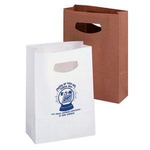 Bespoke Carrier Bags With Die Cut Handle (GB-14) pictures & photos