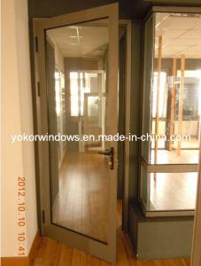 As2047 Double Glazed Aluminum Swing Door (YK-SD)