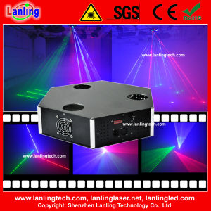 New 350mw RGB Three Heads Laser Stage Lighting Equipment pictures & photos