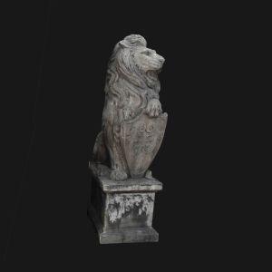 Antique Stone Carving Lion Sculpture pictures & photos