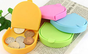 Cheap Colorful Fashion U-Shaped Silicone Coin Purse pictures & photos