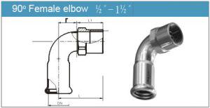 90 Degree Female Elbow