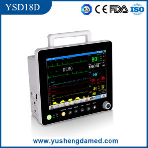 Ce Multi-Channel Medical Equipment 15′′ Touch Screen Patient Monitor pictures & photos