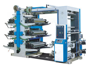 YT 6600 6800 61000 Full Automatic Six-Colors Flexographic Printing Machine