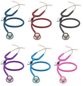 Stainless Steel Dual Head Children Type Stethoscope pictures & photos