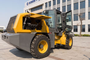 3 Ton Terrain Forklift Have a Hot Sale All Over The World pictures & photos