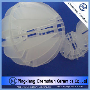 Plastic Polyhedral Hollow Ball for Water Treatment Equipment Packing pictures & photos