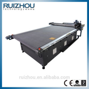 CNC Vibrating Knife Rubber Car Mat Manufacturing Machine pictures & photos