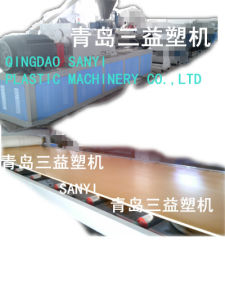 Wood Plastic Board Production Line pictures & photos