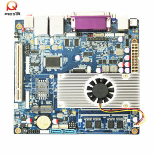 Intel Atom Motherboard Fanless Mini Itx Motherboard with Fan pictures & photos