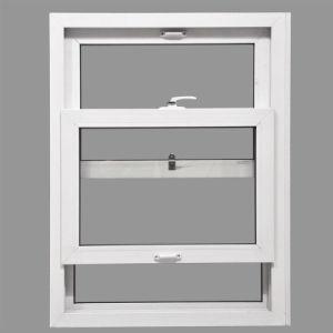 Powder Coated White Aluminum Double Hung Sash Window