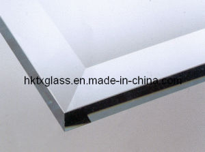 Beveled Edge Glass Table Top / 25mm Bevelled Edge Glass with En12150 pictures & photos