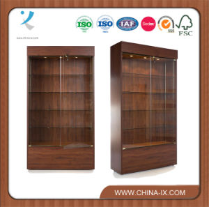 Wall Display Case with Solid Back Panel pictures & photos