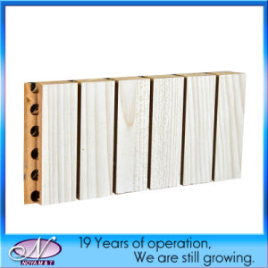 Acoustic Sound Absorption Wooden Wall Panel for Theather, Gymnasium Decorative pictures & photos