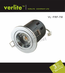 7W LED Downlight Fire Rated Fixed with CE RoHS