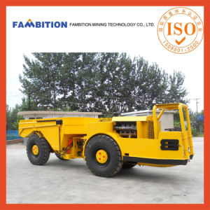 Underground Mining Hydraulic Trackless China Made Articulated Dump Truck