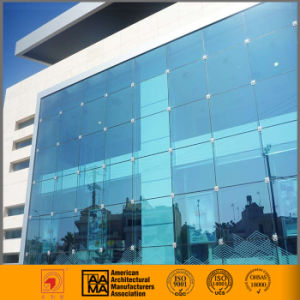 Exterior Energy Saving Glass Curtain Wall Construction China pictures & photos