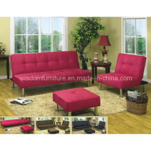 Modern Living Room Fabric Folding Sofa Bed, Sofa Set (WD-8110)