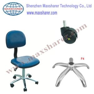 ESD Cleanroom Chair With Blue Leather (B0301 blue)