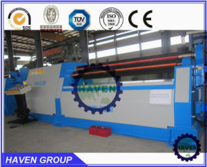 W11H-10X2000 3 rolls Automatic plate industrial bending rolling machine pictures & photos