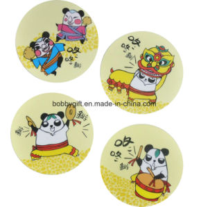 Wholesale Cheap Cartoon Paper Cup Coaster/Cup Mat pictures & photos