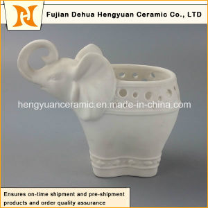 Porcelain Elephant Shape Flowers Vase with Hight Quality (Home Decoration) pictures & photos