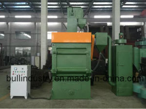 Manufacturing Shot Blasting Machine to Make Brake Pads pictures & photos