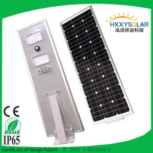 70W LED Solar Street Lights with PIR Sensor LED Lights for Road pictures & photos