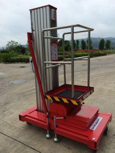 6-9m Sing Mast Working Platform with CE Certificate pictures & photos