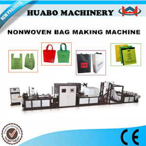 New Techincal Automatic Nonwoven Bag Making Machine pictures & photos