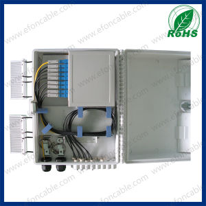 Fdb 16fibers PC/ABS Material Indoor Outdoor Optical Fiber Termination Box pictures & photos