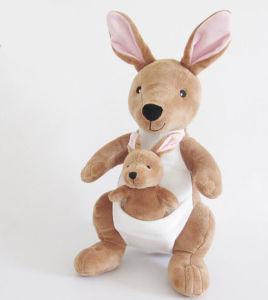 Australia Style Soft Stuffed Kangaroo Plush Toy pictures & photos