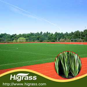 Factory Selling High Quality Artificial Grass for Football Field pictures & photos
