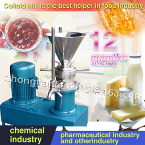 Stainless Steel Jmf-50 Jam, Peanut Butter, Cream Colloid Mill Machine for Sale