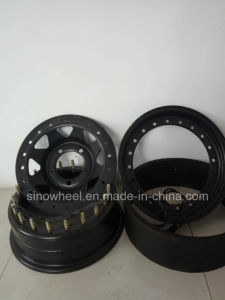 Inside Beadlock Steel Wheel for Land Cruiser, Prado pictures & photos
