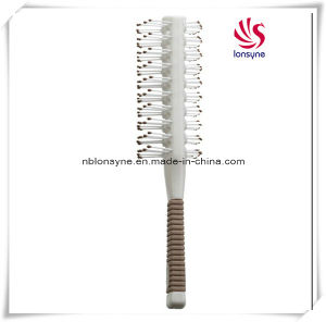 Two Side Implanting Hairbrush with Nylon Pins