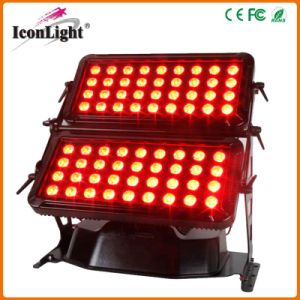 High Power 72*10W RGBW LED Wall Washer Outdoor IP65 pictures & photos